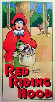 Title: Red Riding Hood , Date: circa 1920's , Size: 38.5