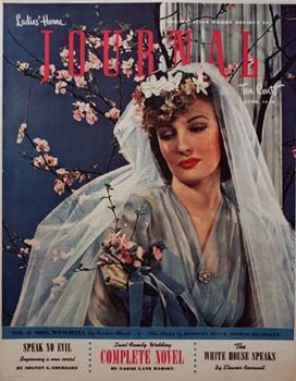 Title: Ladies Home Journal , Date: circa 1940s , Size: 22