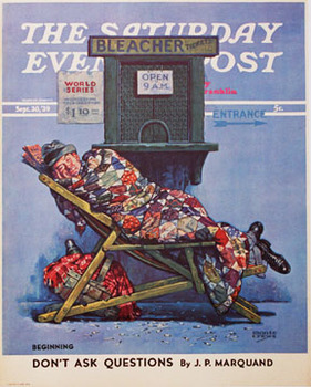 Title: Saturday Evening Post    Sleeper , Date: 1939 , Size: 22