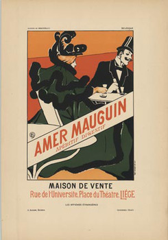Title: Amer Mauguin , Date: 1897 , Size: 8 5/8