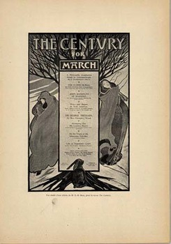 Title: The Century for March , Date: 1897 , Size: 8 5/8