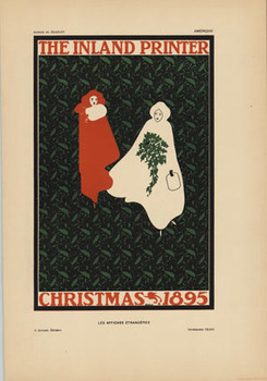 Title: The Inland Printer Christmas 1895 , Date: 1897 , Size: 8 5/8