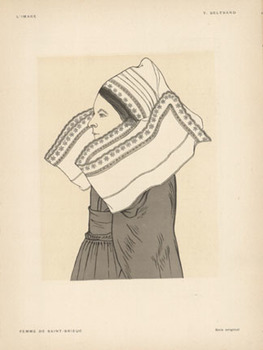 Title: L' Image- Femme De Saint- Brieuc , Date: 1897 , Size: 12 x 9.25 , Medium: Stone-Lithograph , Price: $89