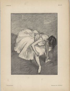 Title: L' Image- Danseuse , Date: 1897 , Size: 12 x 9.25 , Medium: Stone-Lithograph , Price: $99