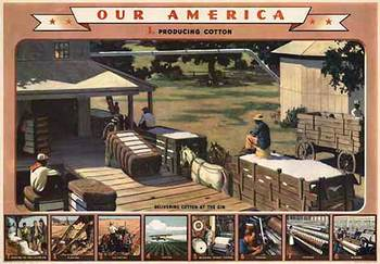 Title: Our America Cotton # 1 , Date: 1943 , Size: 31.75
