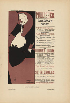Title: Children's Books , Date: 1897 , Size: 9 x 12.5 , Medium: Stone-Lithograph , Price: $950