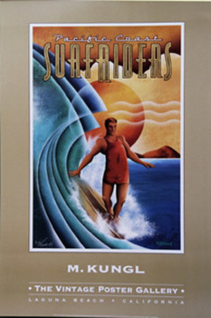 Title: Surfriders Gallery Poster , Date: 2001 , Size: 24 x 36