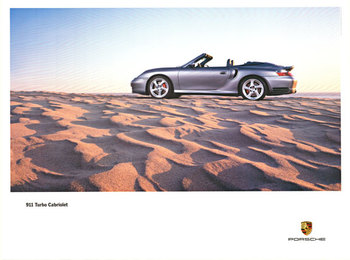 Title: 911 Turbo Cabriolet , Date: 2003 , Size: 30 x 40 , Medium: Offset-Lithograph , Price: $125