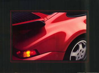 Title: 1991 Porsche , Date: 1990 , Size: 23 x 17 , Medium: Offset-Lithograph , Price: $59