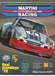 Title: Martini Porsche Racing Final Standings , Date: 1973 , Size: 30 x 40 , Medium: Offset-Lithograph , Price: $625
