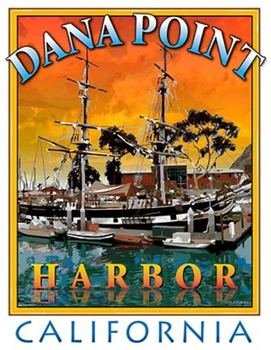 Title: DANA POINT HARBOR (S) , Size: 17 x 22 , Medium: Giclee , Price: $89