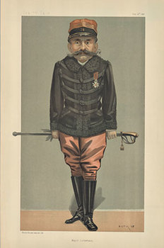 Title: Major Esterhazy , Date: 1898 , Size: 10 x 15 , Medium: Lithograph , Price: $59