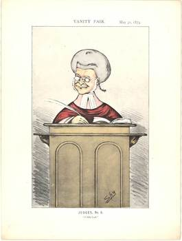 Title: Judges, No 8 - A Little Lush , Date: 1873 , Size: 9 x 12 , Medium: Lithograph , Price: $75