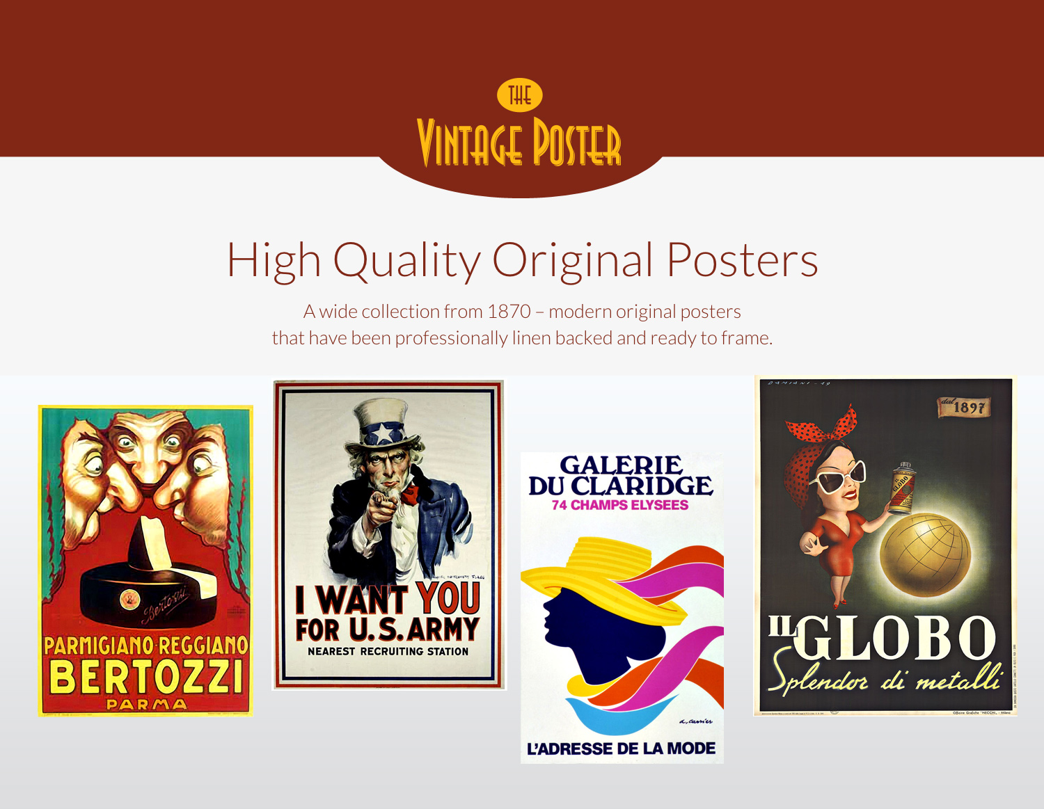 high quality original posters rare and collectable