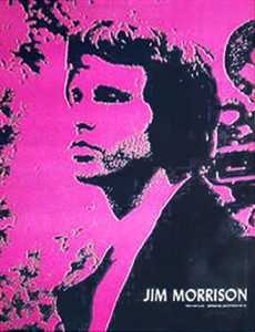 Jim Morrison collectable poster
