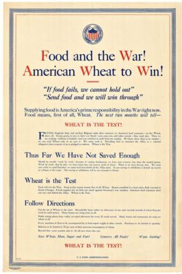 Food and the War!