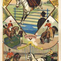 antique circus poster